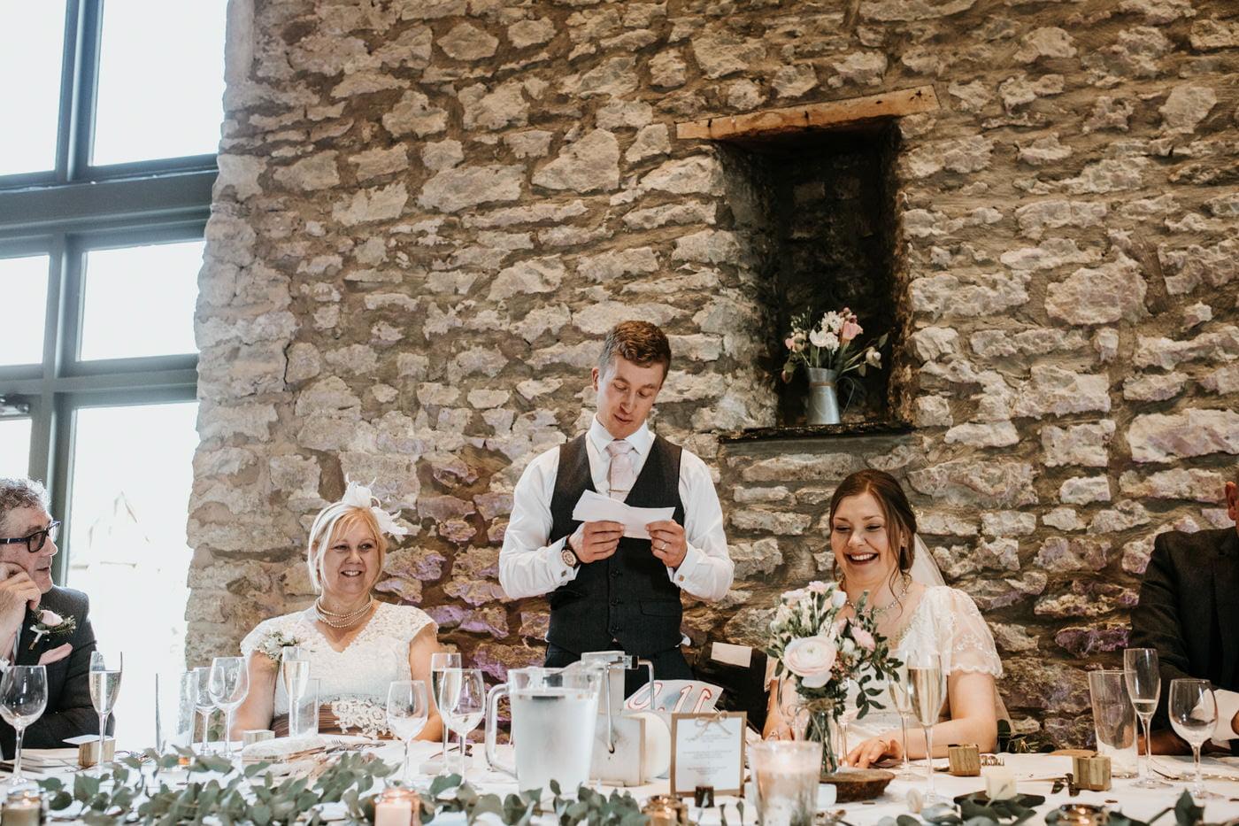 Lana and Tony, Priston Mill The Barn, Bath 56