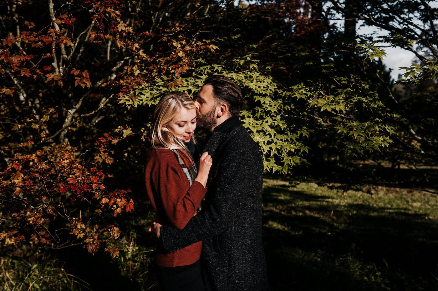 Katy and Alex, Westonbirt Arboretum Engagement Shoot 8