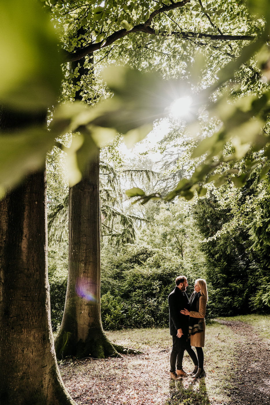 Katy and Alex, Westonbirt Arboretum Engagement Shoot 3