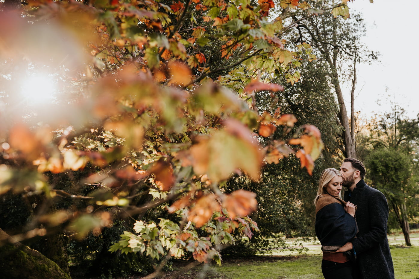 Katy and Alex, Westonbirt Arboretum Engagement Shoot 5