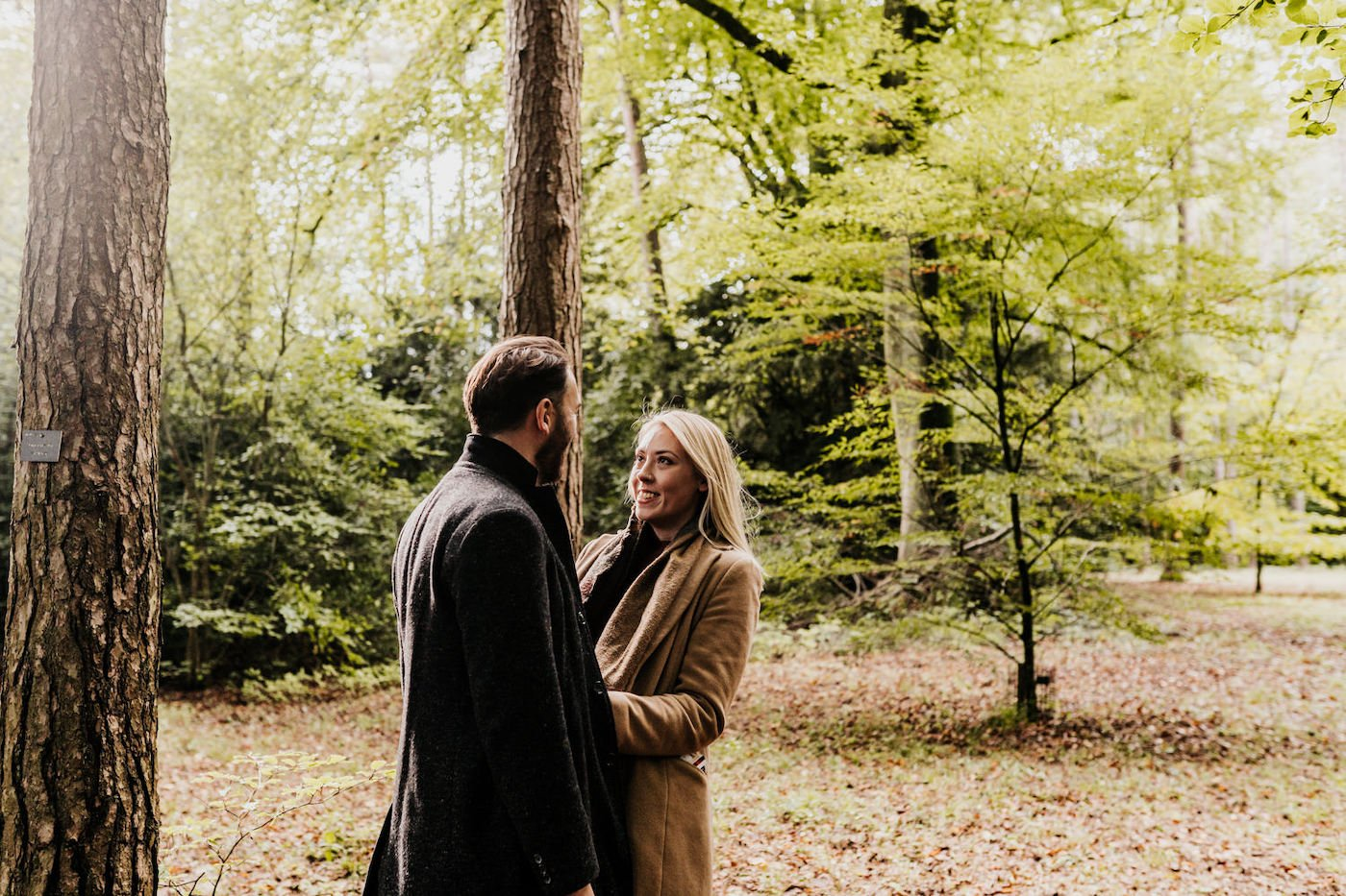 Katy and Alex, Westonbirt Arboretum Engagement Shoot 16