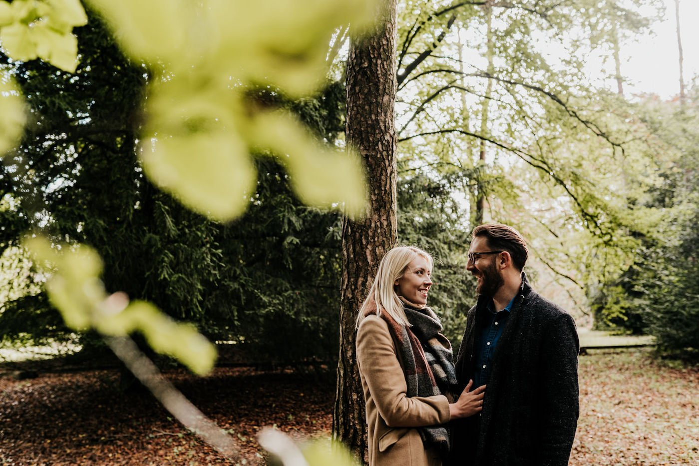 Katy and Alex, Westonbirt Arboretum Engagement Shoot 13