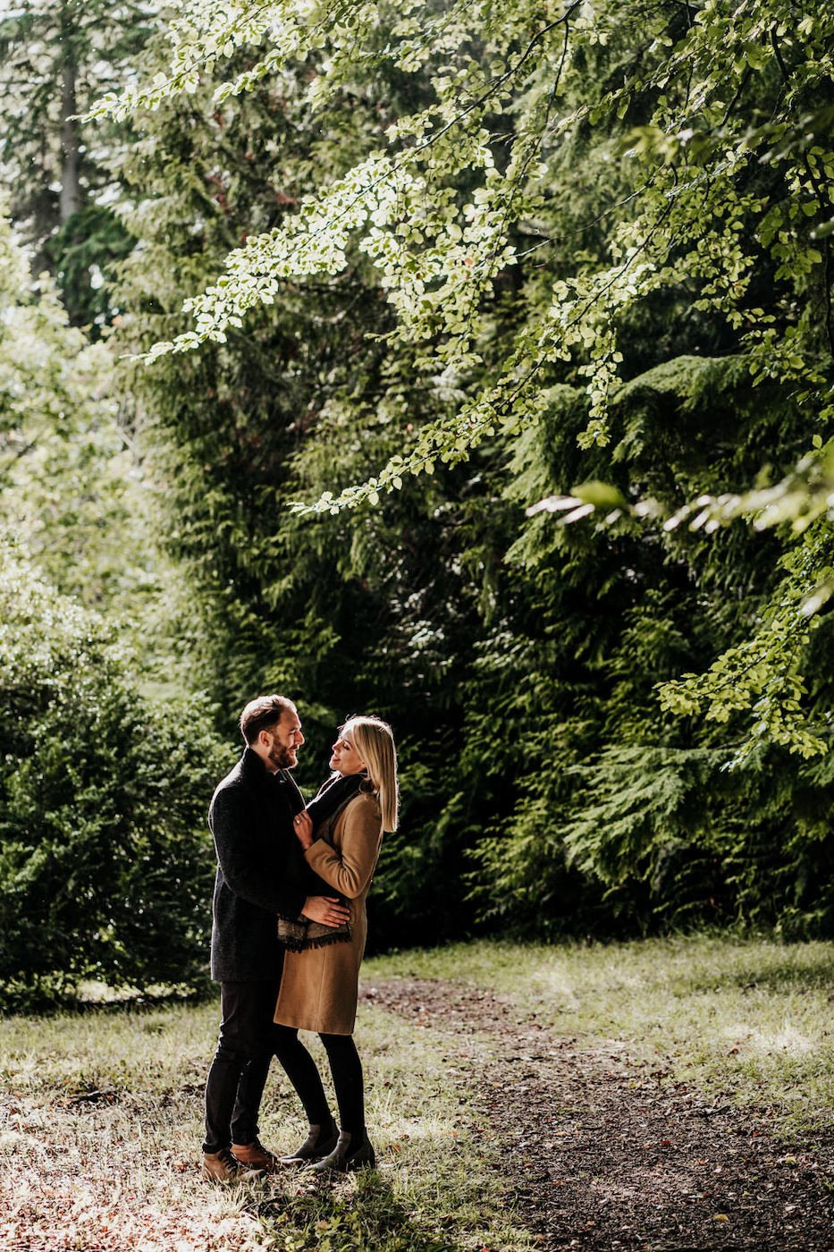 Katy and Alex, Westonbirt Arboretum Engagement Shoot 11