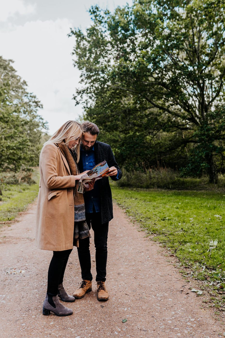 Katy and Alex, Westonbirt Arboretum Engagement Shoot 1